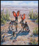 Sweltering Hares