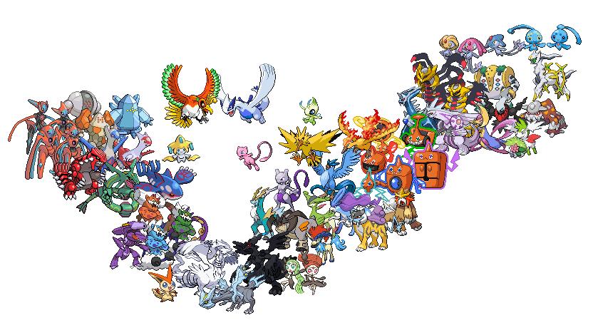 Legendary pokemon by starjamlegend on deviantart - All legendary pokemon background ...
