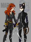 Black Widow VS Catwoman