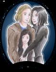 Michael, Selene and Eve