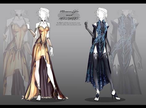 Auction : Outfit #1-2 (Close)