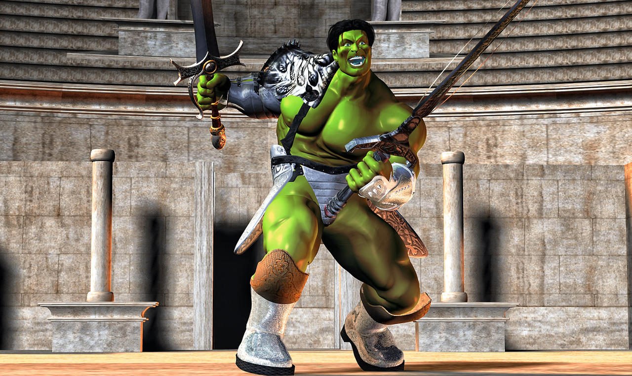 Hulk Gladiator 2 by hiram67