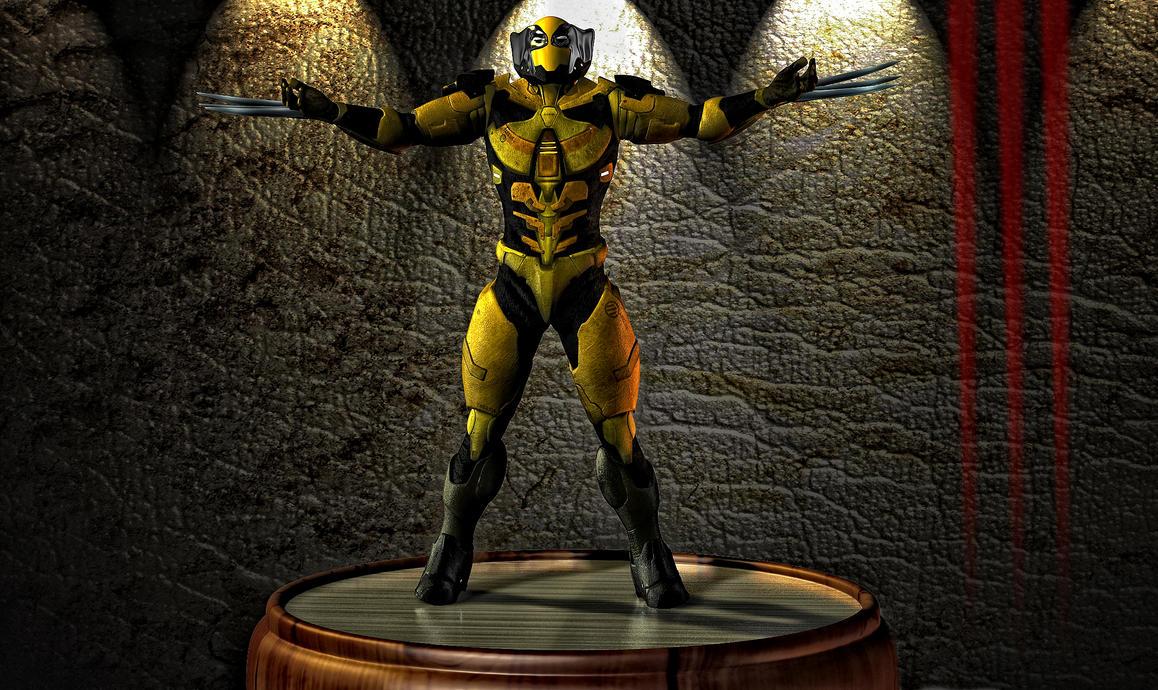 Wolverine Bot 2 by hiram67