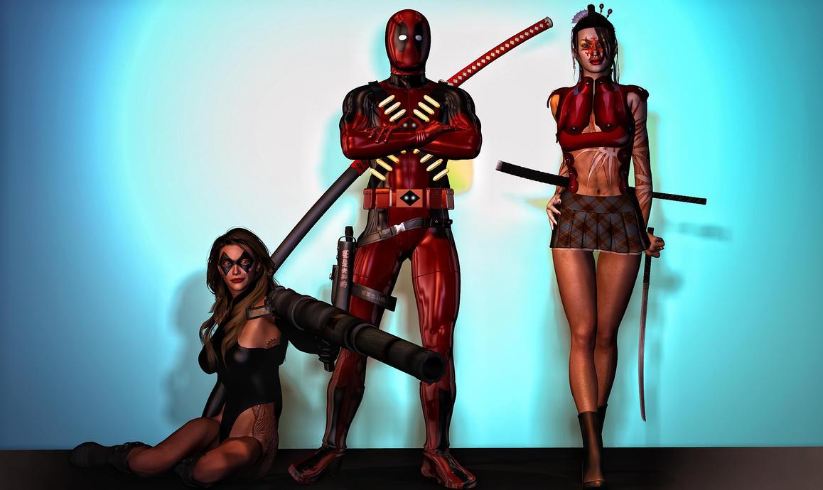 Deadpool my love by hiram67