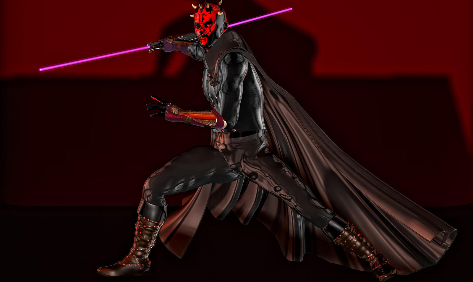 Darth Maul by hiram67