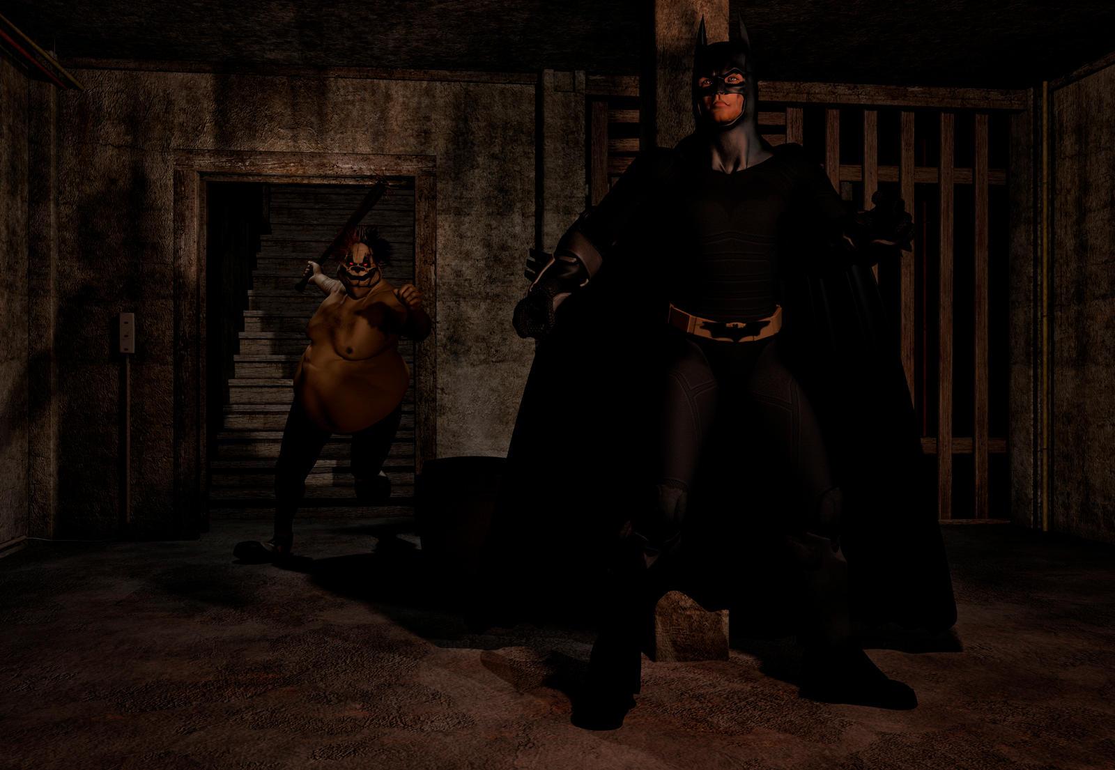 Batman vs Evil Joker scena 1 by hiram67 on DeviantArt
