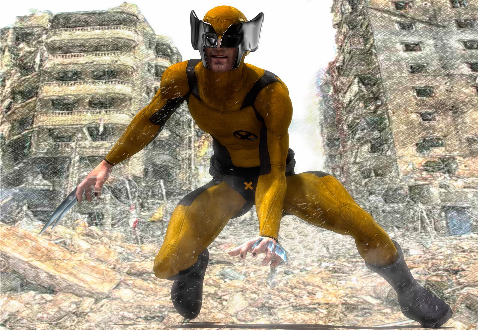 Wolverine by hiram67