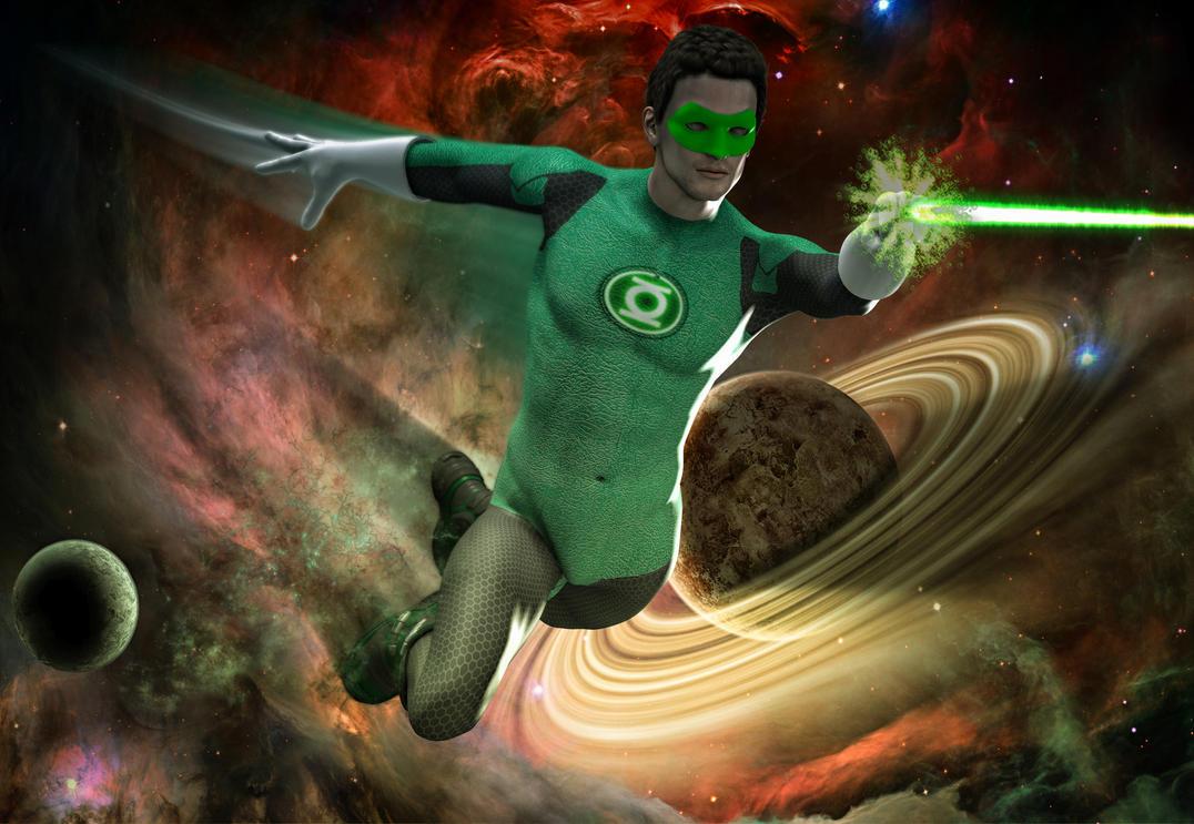 Green Lantern by hiram67