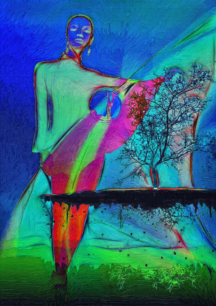 Sulle ali dell'arcobaleno by hiram67