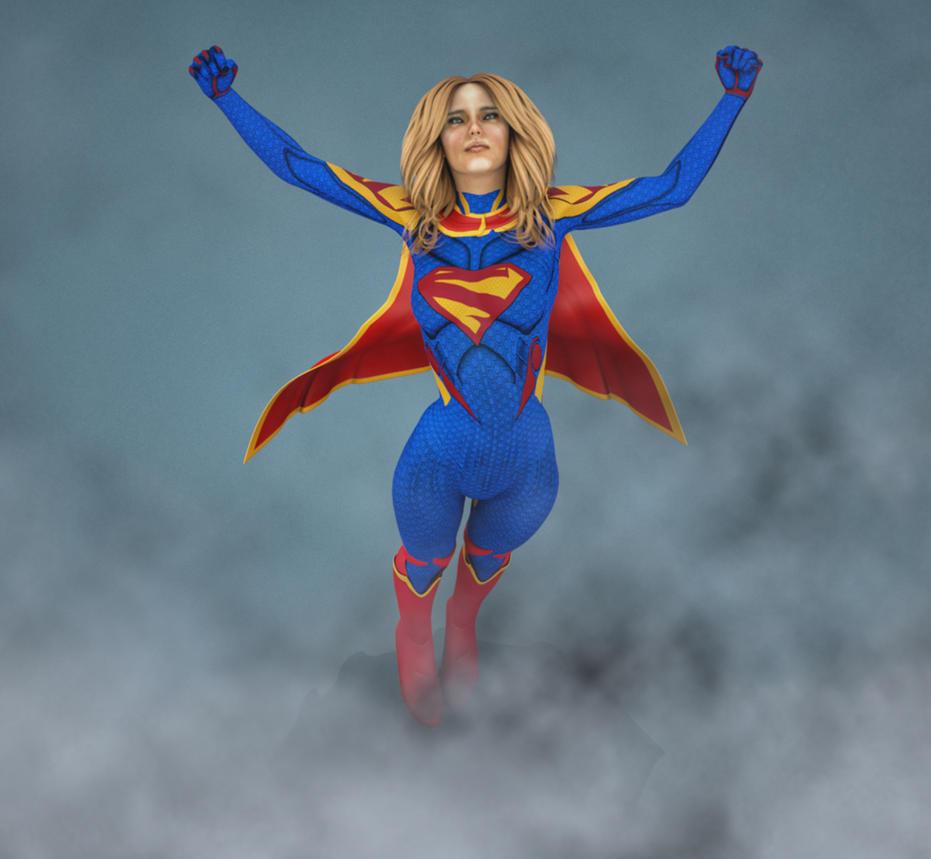 Supergirl by hiram67