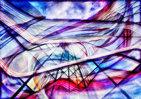 Urban abstract by hiram67