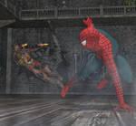 Kraven vs Spiderman