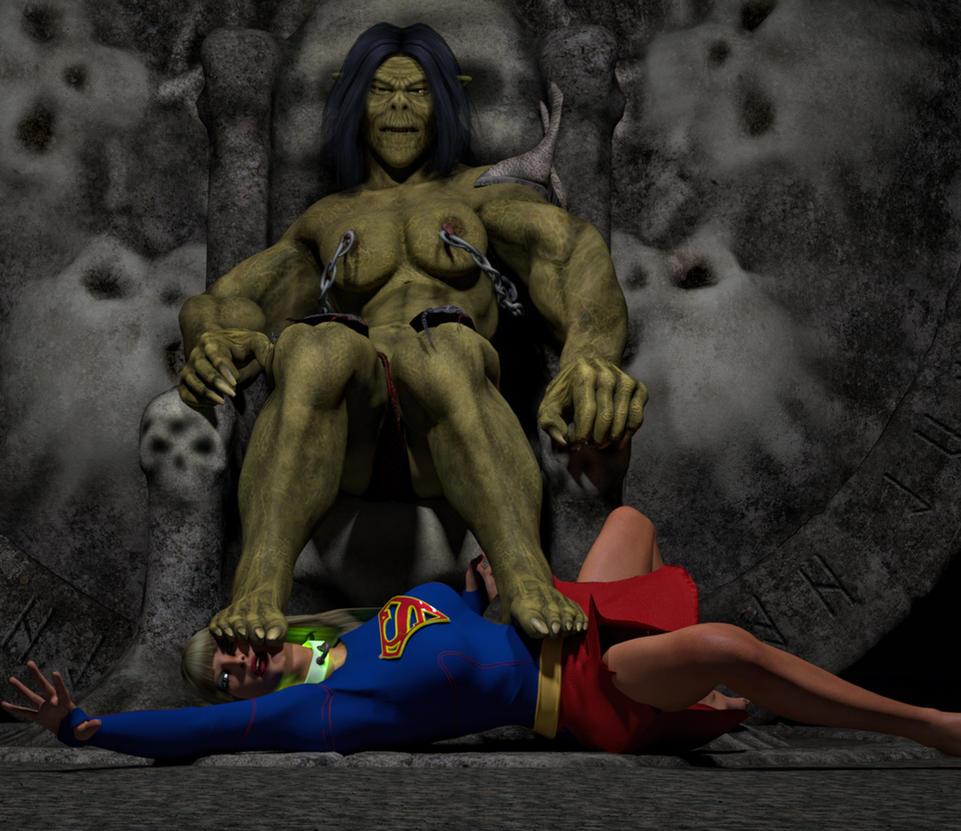 Supergirl dominated by hiram67