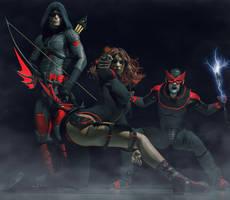 The Black Squad by hiram67