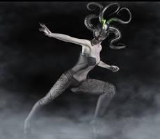 Medusa Sci fi by hiram67