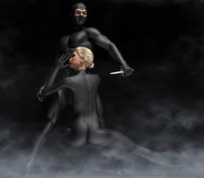 Diabolik and Eva Kant by hiram67