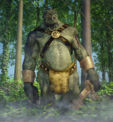 The forest Troll