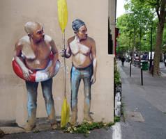 Rue de Pyrenees, Paris