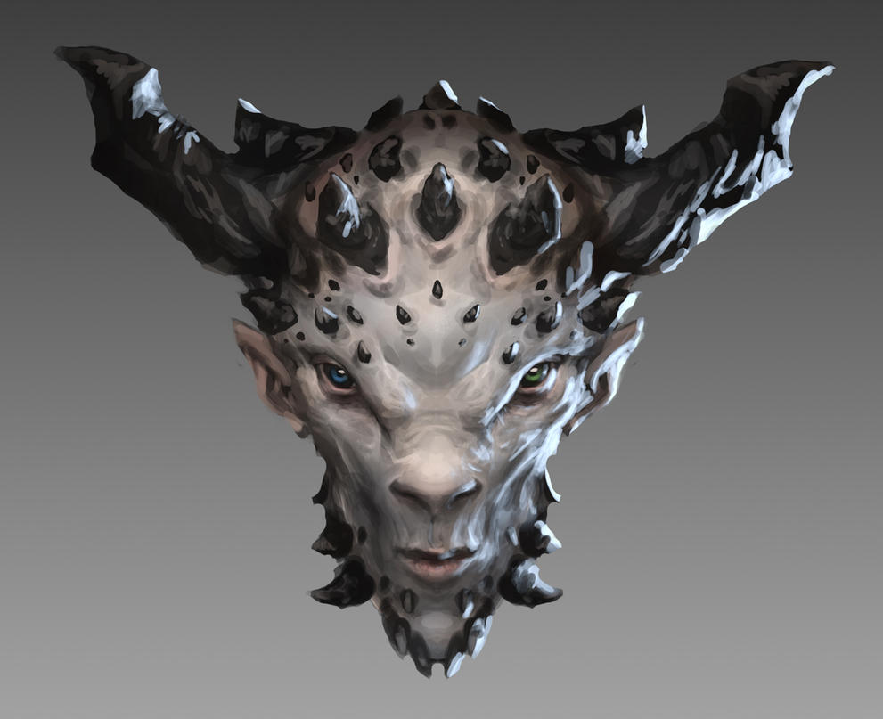 Satyr Head by Otto-Metzger