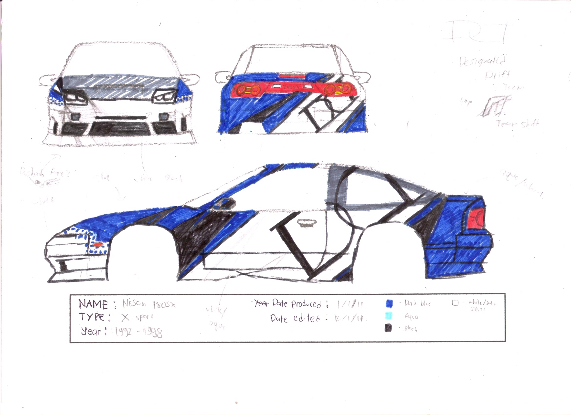 Design my car -  My Drift Car Livery Design By Mrblazedemingo