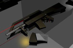 Gun by MorbidSkie