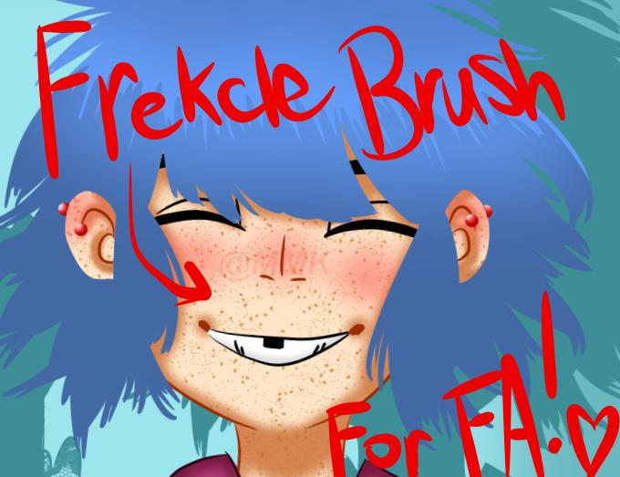 Freckle Brush for Firealpaca by LilyKatArtist on DeviantArt