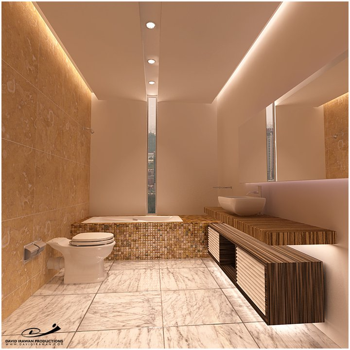 home toilet design symetrical concept by davidplato on