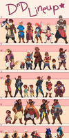 DnD Lineup by onioned