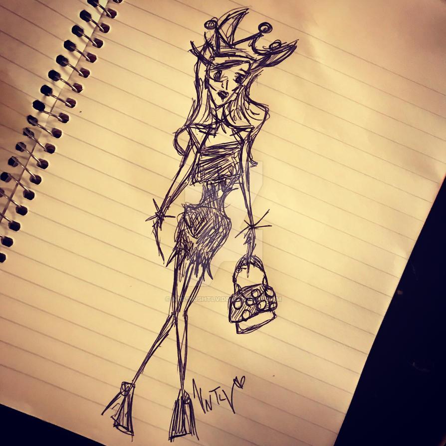 Fashionista Bowsette by NishNushTLV