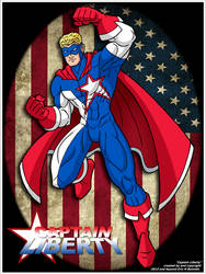 Captain Liberty by BMH by UrsaMagnus