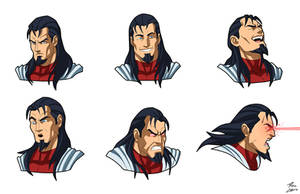 Steel Wolf expressions by Phil Cho