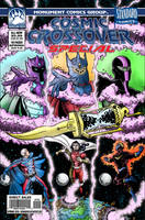Cosmic Crossover Special 2016 cover by UrsaMagnus