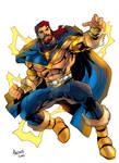Taranis the Thunderlord by Gilbert Monsanto
