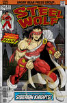 Flasback feature: Steel Wolf #1 cover (v1, 1986)