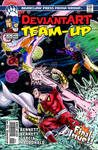 DeviantArt Team-Up #11 cover