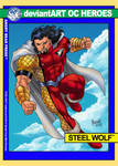 Steel Wolf 90s-style Trading Card