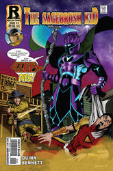 The Sagebrush Kid #3 cover by UrsaMagnus