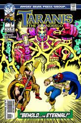 Taranis the Thunderlord #4 cover