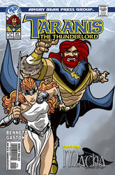 Taranis the Thunderlord #3 cover