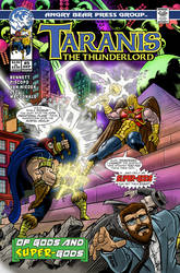 Taranis the Thunderlord #5 cover