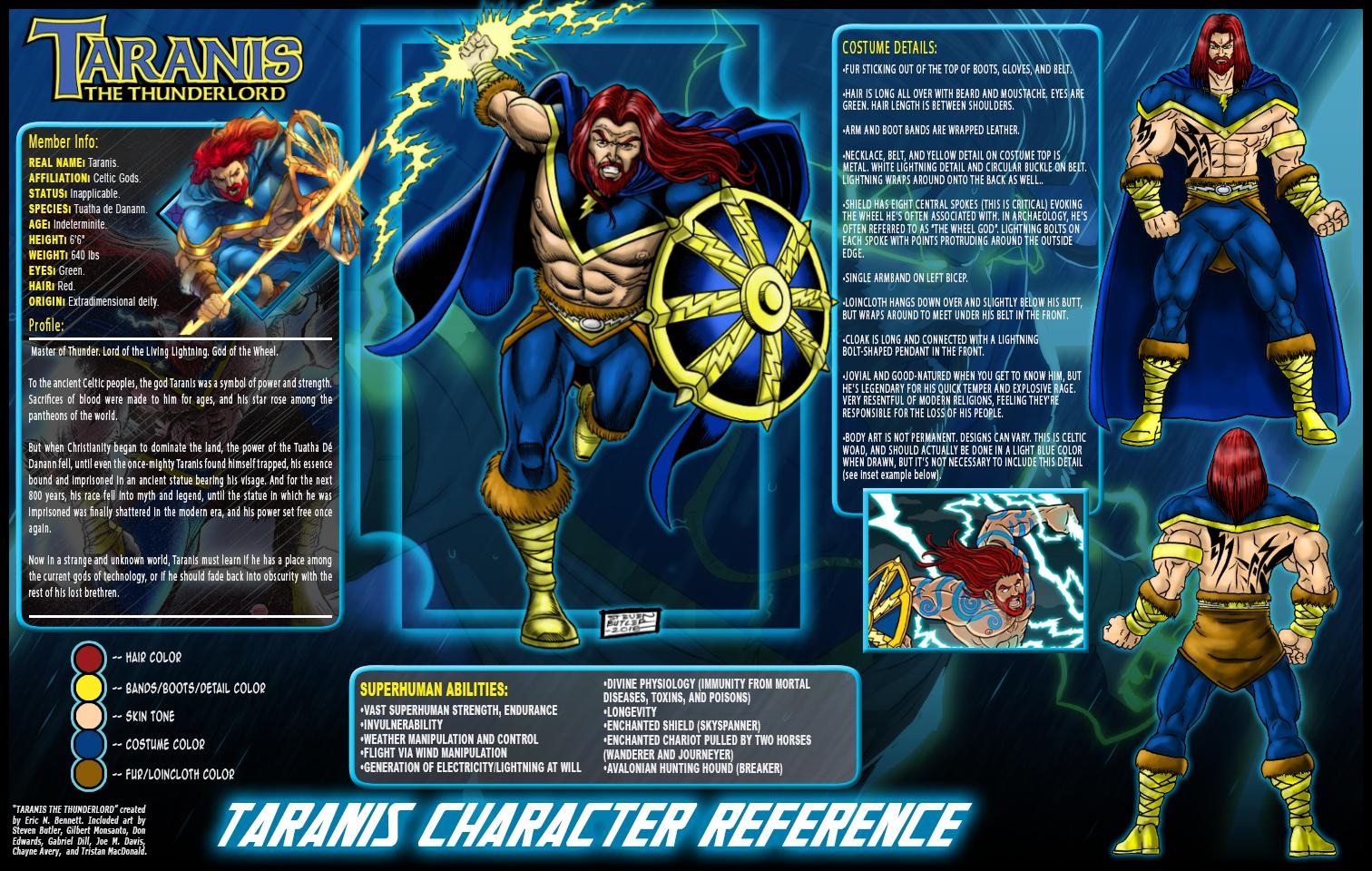 Taranis Reference Sheet by UrsaMagnus on DeviantArt