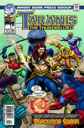 Taranis the Thunderlord #6 cover
