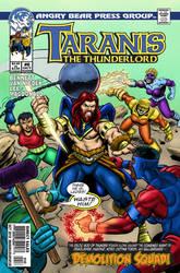 Taranis the Thunderlord #6 cover by UrsaMagnus
