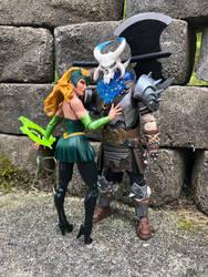 Amora the Enchantress and Ragnarok