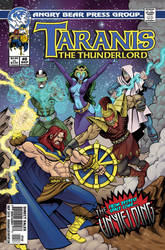Taranis the Thunderlord #8 cover
