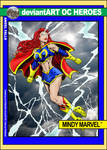 Mindy Marvel Trading Card