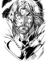 Taranis the Thunderlord by InkerGuy