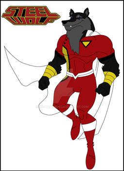 Steel Wolf funny animal version