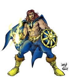 Taranis the Thunderlord by Josh Holley