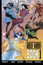 Worlds Wonders Book 1 cover by Cody Conyers